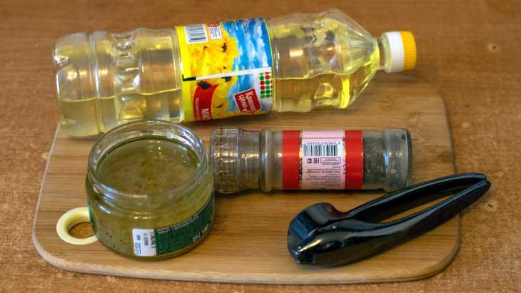 чесночное масло рецепт